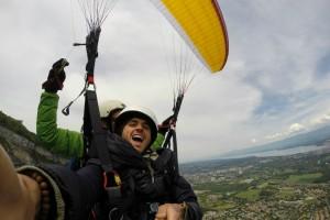 Paragliding - Geneva, Swiss Alps